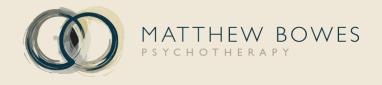 Matthew Bowes Psychotherapy